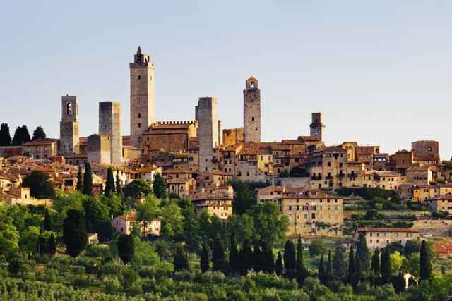 中世の町サン・ジミニャーノ   I...